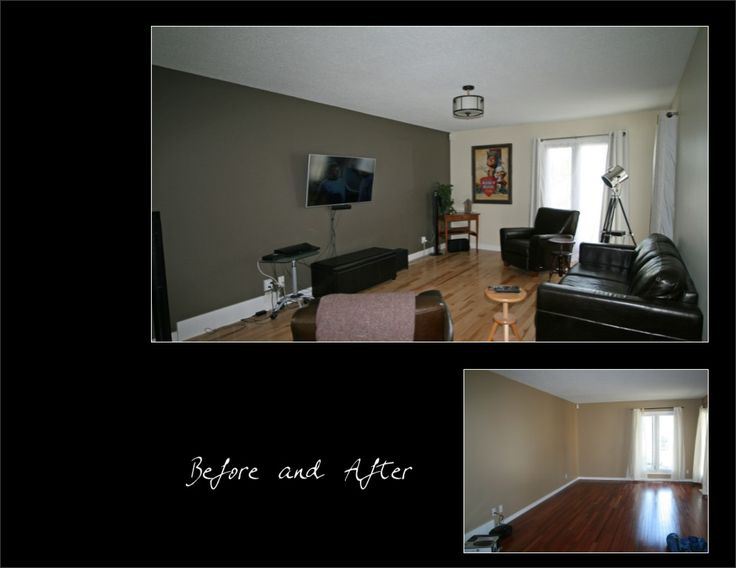Living Room - Before & After