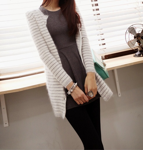 cardigans help make an outfit casual: Fall Style, Fallwint Style, Stripes, Cardigans Help, The Cardigans, Outfit Casual, Eryn Style