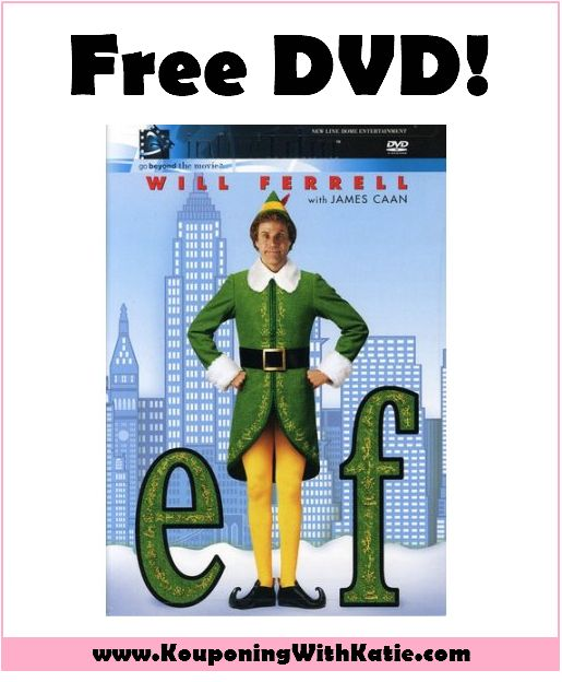 HOT FREE Elf DVD (Reg $20); Just In Time For The Holidays!!! - Kouponing With Katie There is ANOTHER money maker deal available right now at Walmart! This is also a great gift idea as well, and you can make a few bucks grabbing it. Pick ... http://www.kouponingwithkatie.com/2017/11/20/hot-free-elf-dvd-reg-20-just-time-holidays/