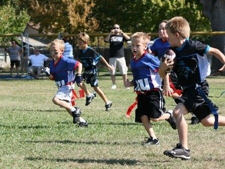 Youth Flag Football Citrus Heights, California  #Kids #Events