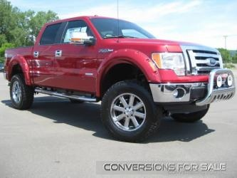 2012 Ford F150 Rocky Ridge Altitude Conversion Lifted Truck