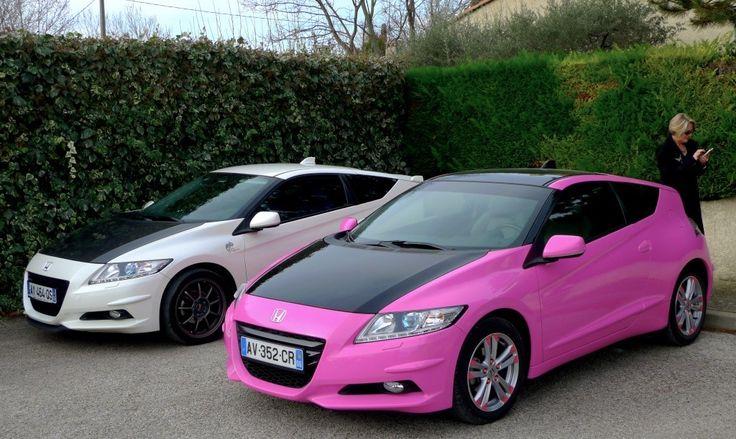 Pink Honda CR Z | 5 Photo 1 Car In Set | Pinterest | Honda Cr, Honda And  Cars