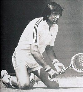 Ilie Nastase-Romanian former world no. 1 professional tennis player. He was ranked world no. 1 (1973-1974). He is one of the 5 players in history to win more than 100 ATP professional titles.He was inducted into the International Tennis Hall of Fame in 1991.  He is the first  male player to win a Grand Slam at the French Open (1973).