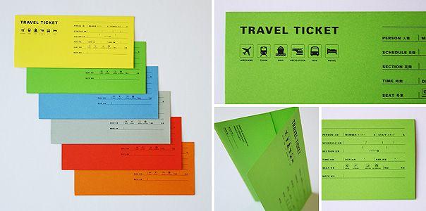 ハンズ オン エンターテイメント トラベルチケット封筒(旅行会社)のアートディレクション・デザイン