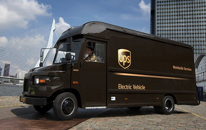 Charged Evs Ups S 950 Electric Delivery Vans From Workhorse