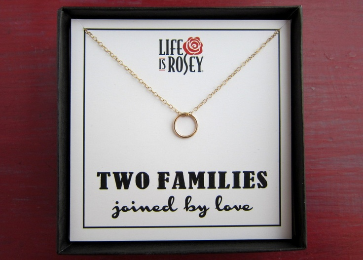 Wedding Gift To Step Daughter : ... gift for a new step-daughter. Blended Family Gift - 14K Gold Filled