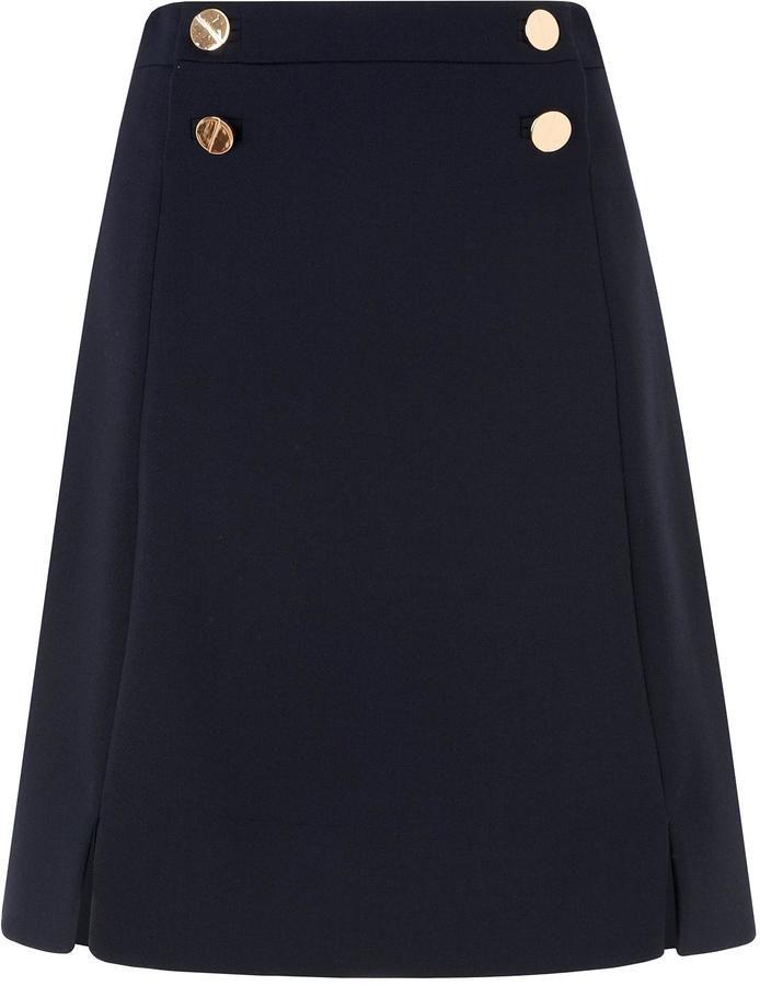 LK Bennett Bay Blue Skirt