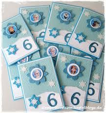 Bildergebnis Für Eiskönigin Einladungskarte Basteln