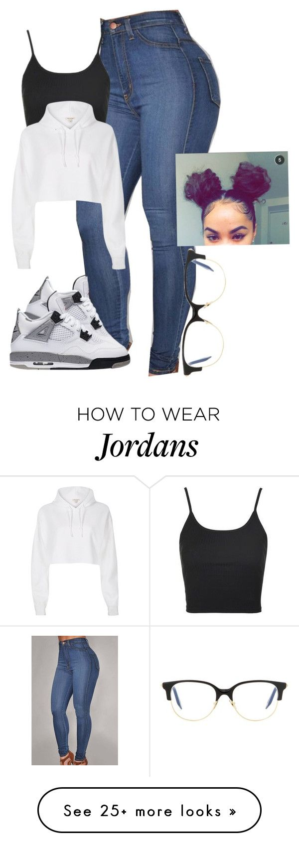 """A beautiful day in the neighbour hood"" by baddiest-bish on Polyvore featuring Topshop, River Island and Victoria Beckham"