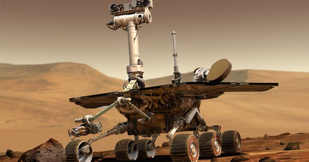Less than 30 minutes before midnight EST on January 3, 2004, NASA's Spirit rover, a robotic geologist, touched down on the surface of Mars. To mark the anniversar, we've put together a few trivia ques ...