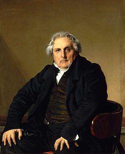 Ritratto di Monsieur Bertin, 1832, olio su tela, Louvre, Parigi
