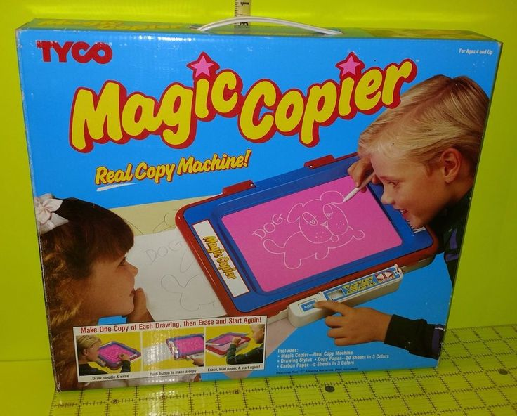 Vtg Tyco MAGIC COPIER Art Drawings Toy Copy Machine | Toys & Hobbies, Classic Toys, Other Classic Toys | eBay!