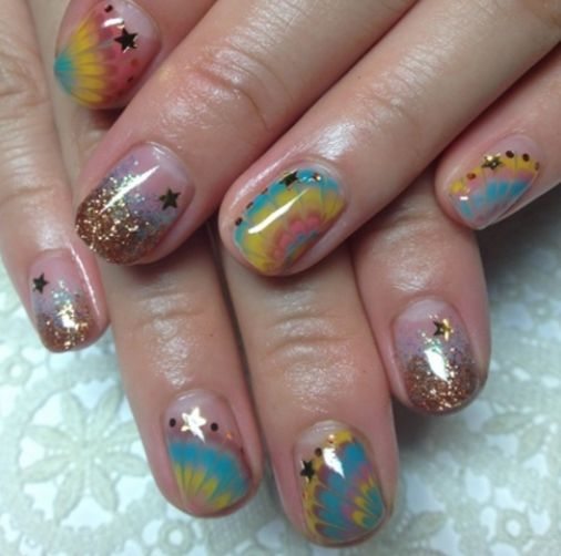 16 best creative nail arts images on Pinterest | Creative nails ...