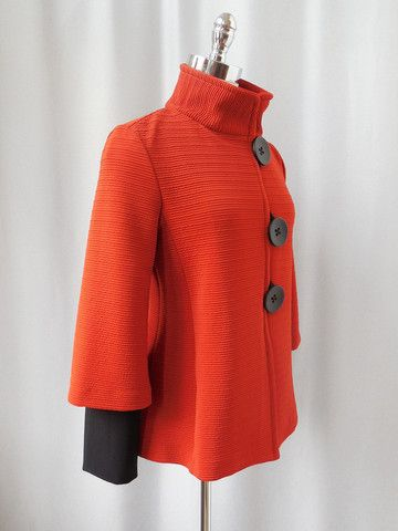 I abso-fricking-lutely love this little orange Jacket! Too cute!