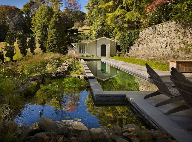 Stunning natural pool complements the idyllic landscape around it perfectly - Decoist