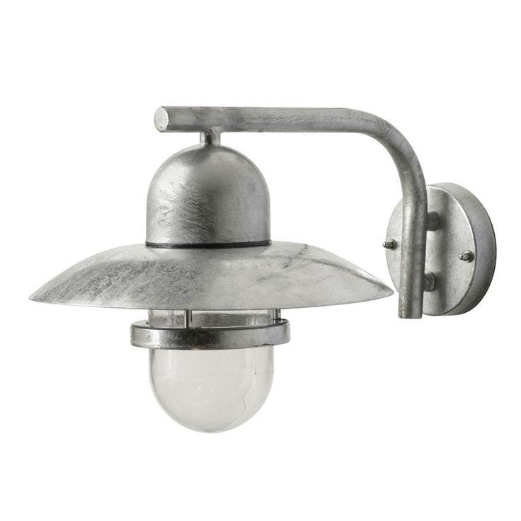 Vägglampa Smartwares Glasgow - Fasadbelysning - Utebelysning - Bygghemma.se