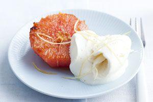 Geroosterde grapefruit - foodies