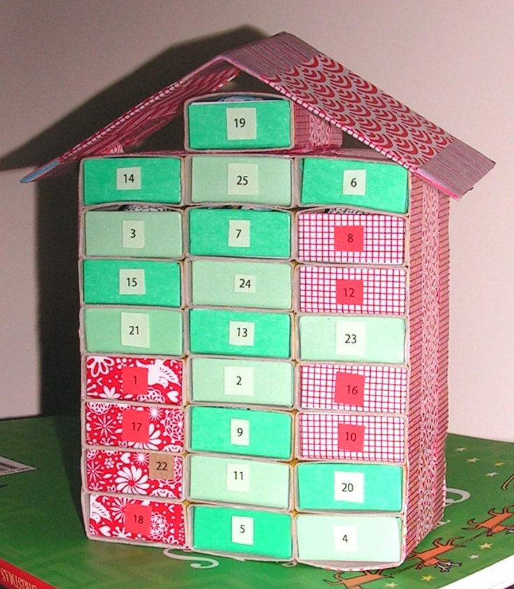 Diy Matchbox Advent Calendar : Best matchbox advent calendar images on pinterest