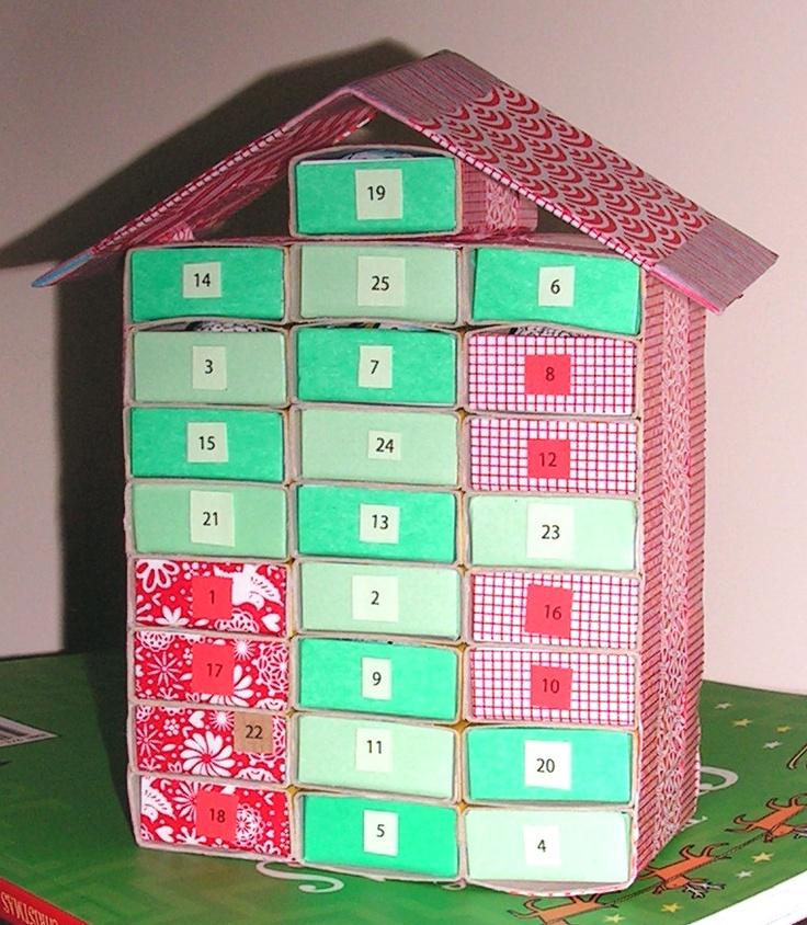 Advent Calendar Self Made : Images about matchbox advent calendar on pinterest