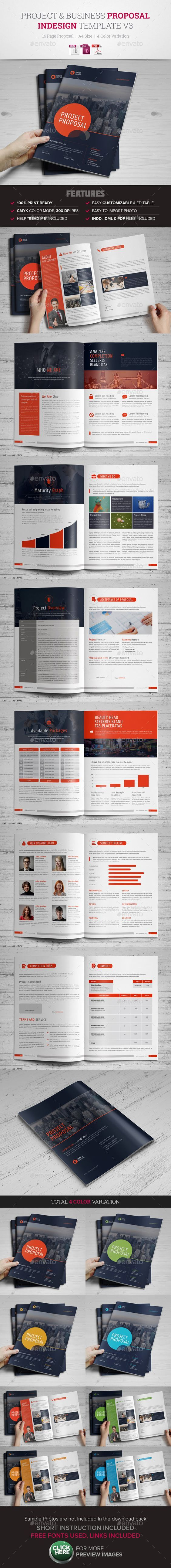 Project & Business Proposal Template v3: