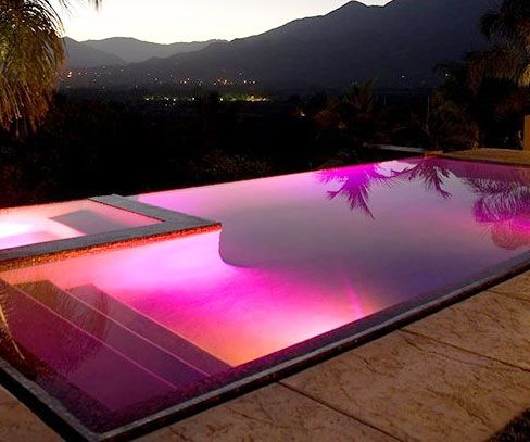 Make your plain old pool resemble an exotic watering hole straight out of a travel magazine with the LED pool light. Once the LED light enters the scene, your pool takes on an entirely new look and feel as it's lit up with vibrant color blends and amazing effects.