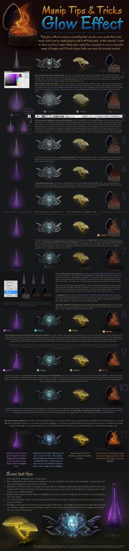 Manip Tips + Tricks - Glow Effect by kuschelirmel-stock.deviantart.com on @DeviantArt