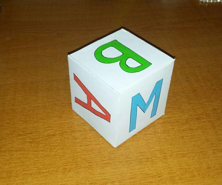 Cub litere
