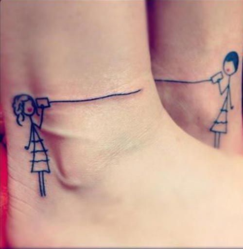 Cute best friend tattoo