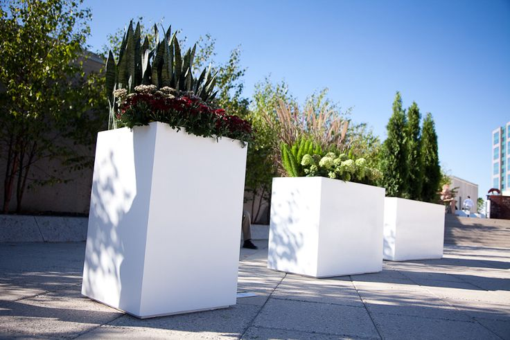 Image result for tall planters wheels