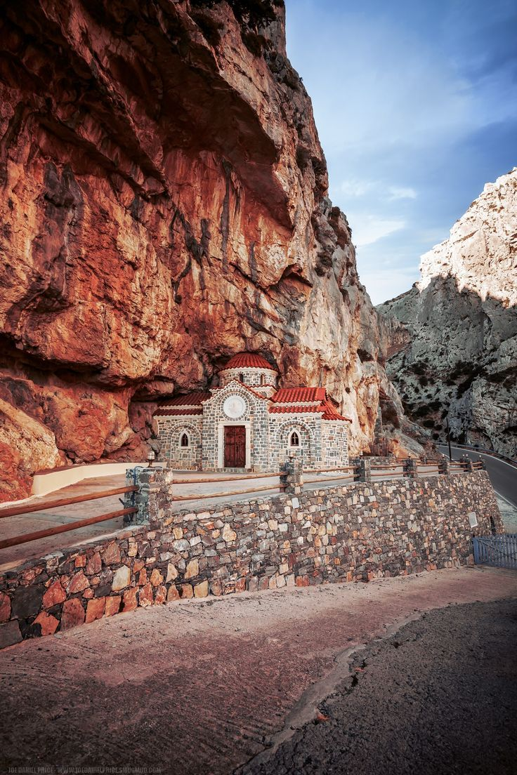 (Church of St. Nicholas) Agios Nikolaos, Kotsyfou Canyon, Rethymno, Crete, Greece