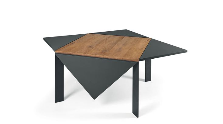 Loto square extensible table - Lago