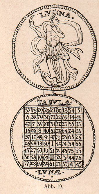 Magic square. One of the coolest images I've seen.