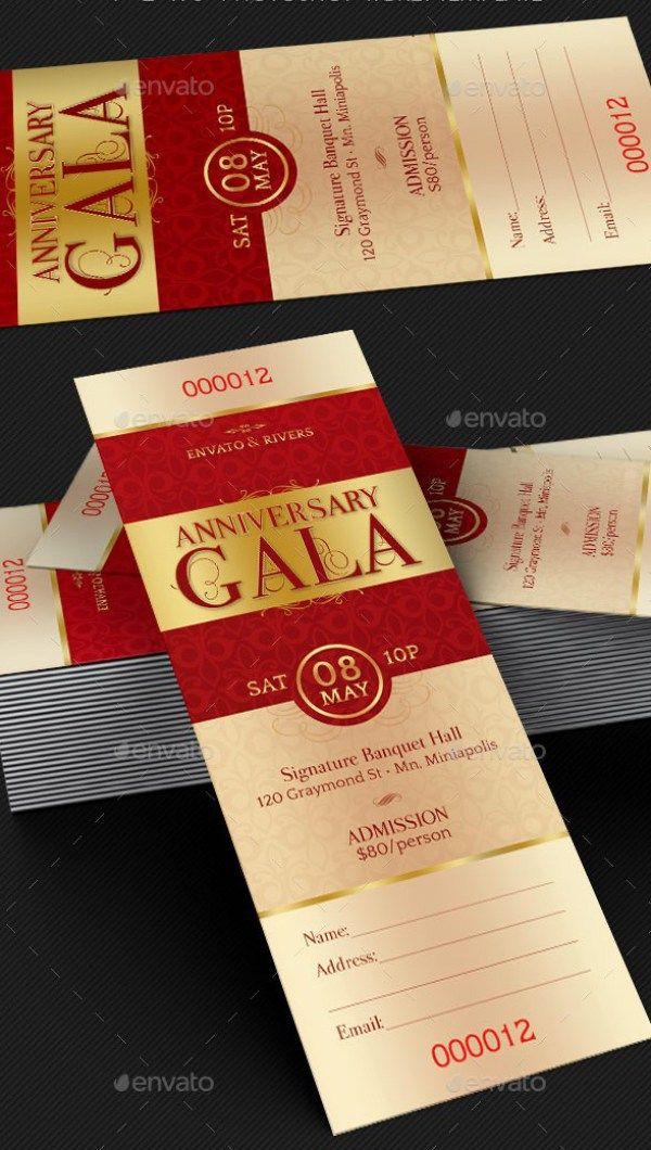 Ponad 20 najlepszych pomysłów na Pintereście na temat Ticket - banquet ticket template