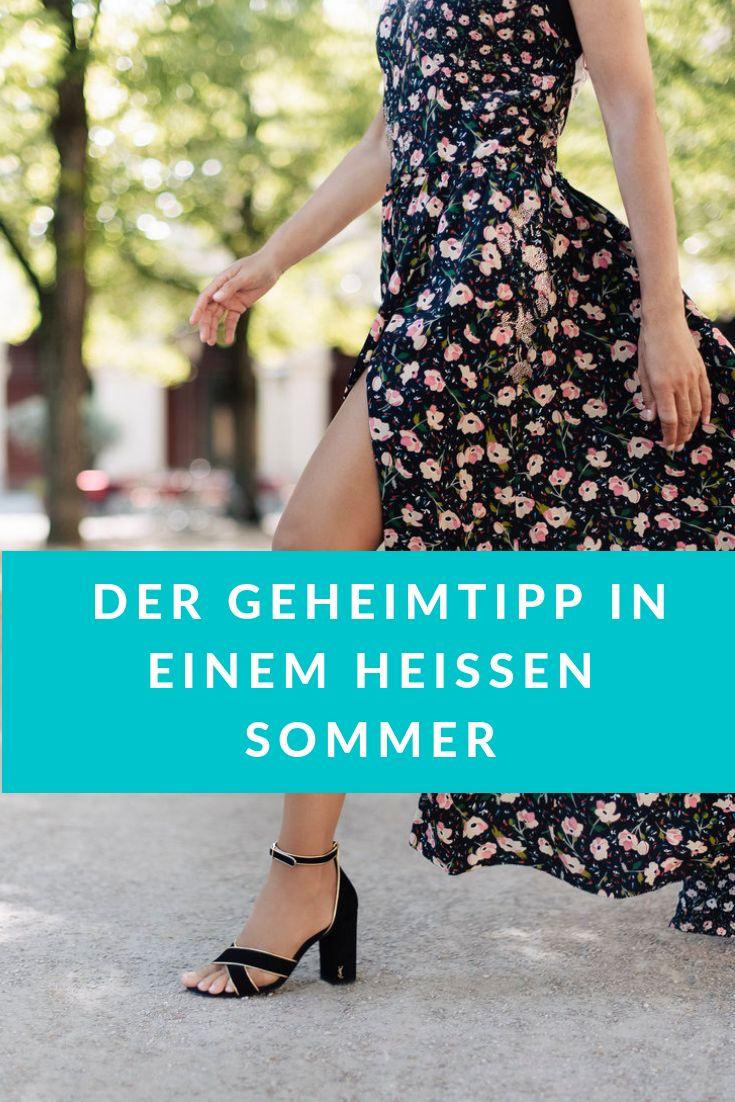Leichte und schlanke Beine – auch an heißen Tagen! – BeFifty – Mode, Beauty und Reisen