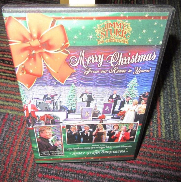 JIMMY STURR: MERRY CHRISTMAS FROM OUR HOUSE TO YOURS 2-DISC DVD SET, ORCHESTRA