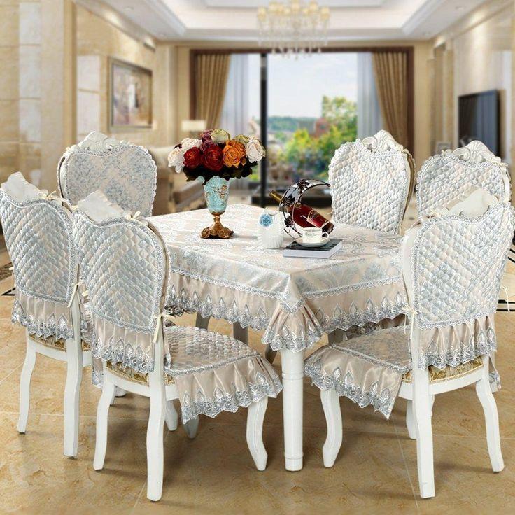 European Style Table Cloth Luxury Lace Elegant DiningEuropean