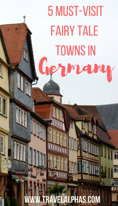 5 must-visit fairy tale towns in Germany! These magical places in Bavaria and Franconia will steal your heart.