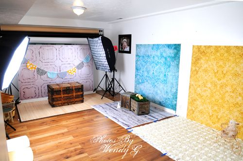 What I would give to have a studio and/or the space for something like this!