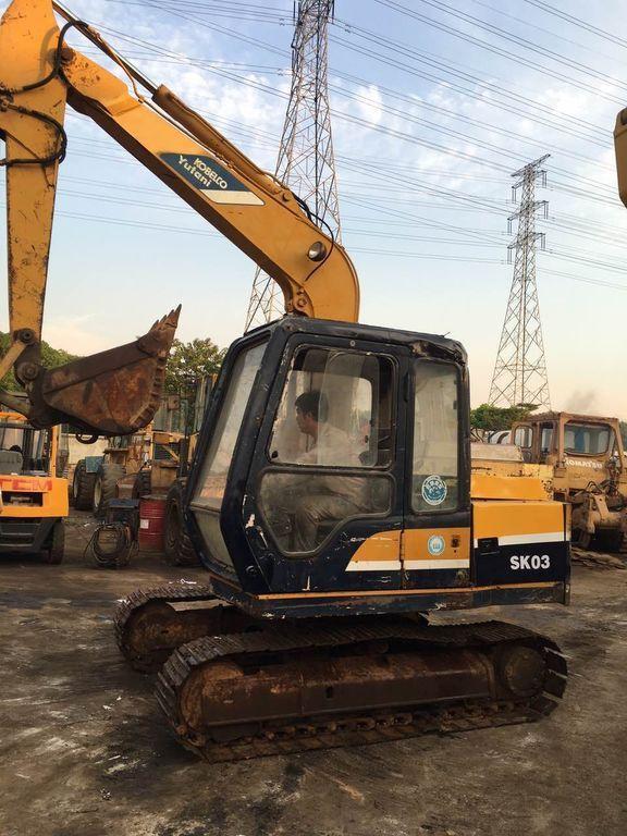 KOBELCO SK03 small excavator, 0.3m³ Japan Kobelco mini digger