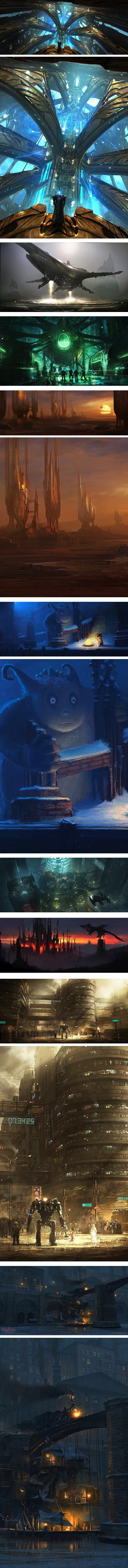 Concept & Visual Dev. | Lines and Colors :: a blog about drawing, painting, illustration, comics, concept art and other visual arts | Page 4