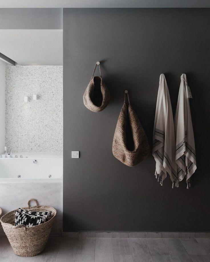 Bathroom Wall Inspiration | Functional Wall Hooks