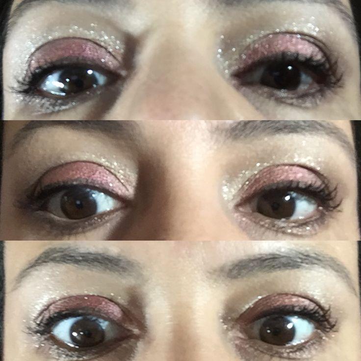 Sombras de ojo younique addcition Paleta 1 y 5, delineador precision proper y rímel 3D