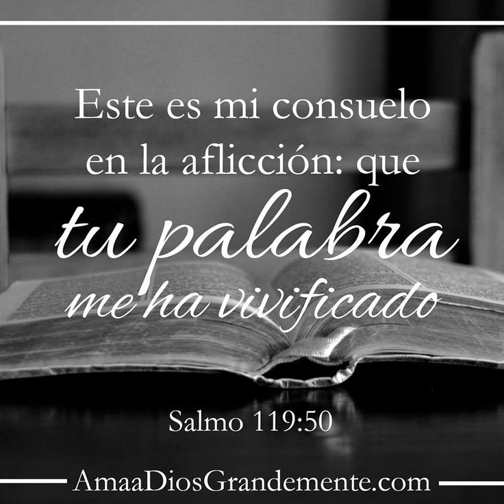 Salmo 119:50 semana 3 #AmaaDiosGrandemente #versodiario #LecturaBíblica…