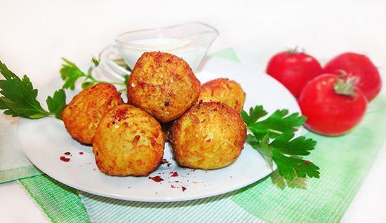 Картофельные шарики (Potato Balls) без муки, крахмала, панировки - быстрые