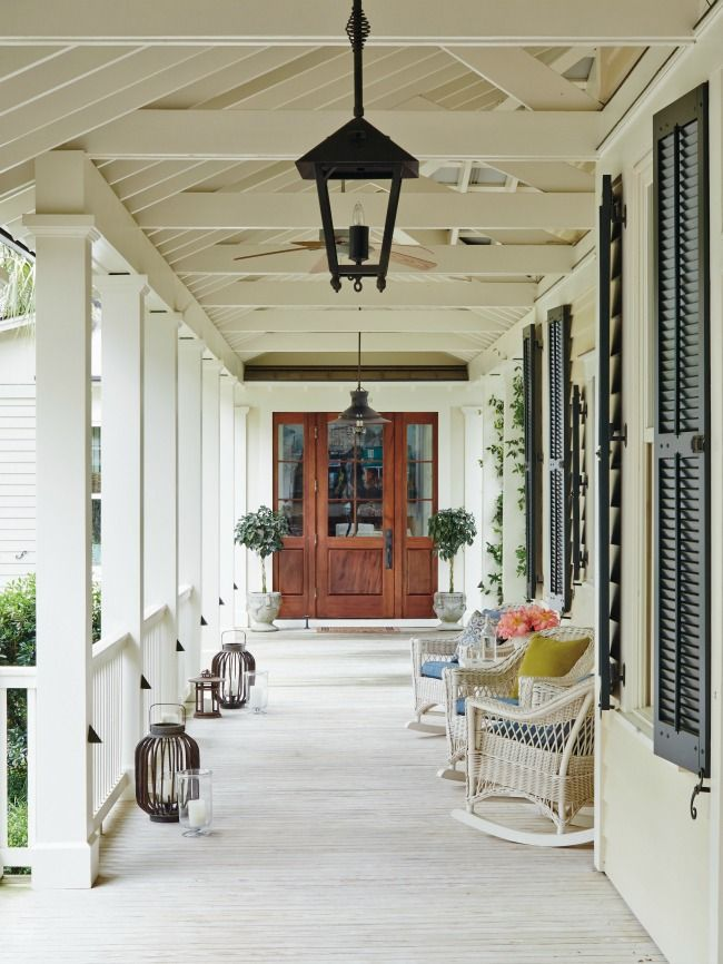The perfect porch for relaxing! More