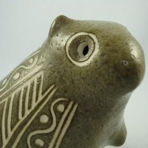 Image of Strawberry Hill Large Studio Art Pottery Beaver - Rare!