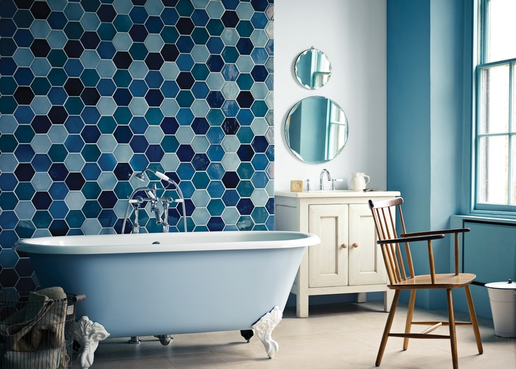 Bathroom Tiles Feature Wall 22 best bath feature walls images on pinterest | bathroom ideas