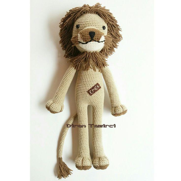 Mejores 12 imágenes de Lion en Pinterest | Muñecos de ganchillo ...