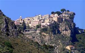 Taormina, Sicily, Italy  One of my favorite citites!  Canolis are incredible!