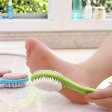 puimsteen voet file voetverzorging gereedschap dode huid remover pedicure borstel duplex gratis verzending 269(China (Mainland))